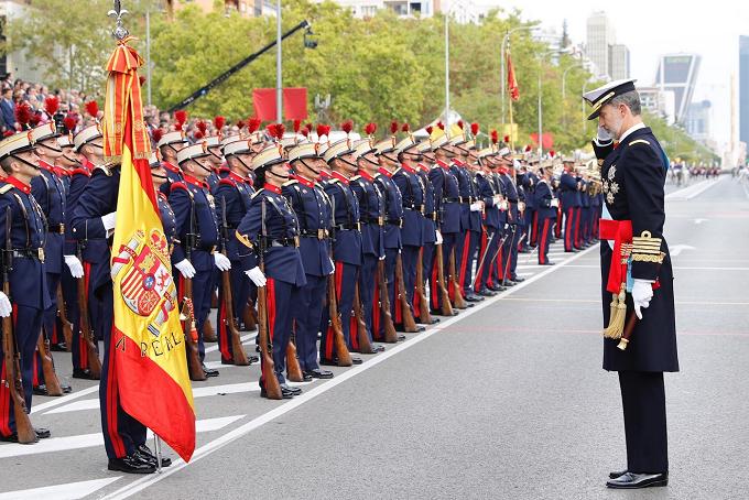 España, 12 de octubre: Celebración del Día de la Fiesta Nacional