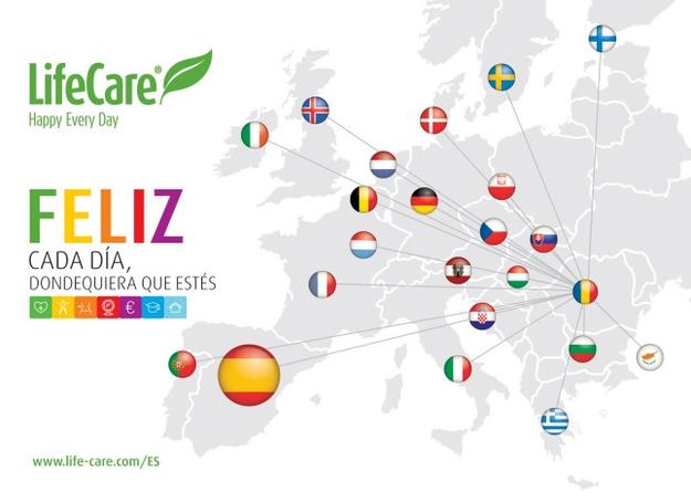 Evento de lanzamiento de LifeCare en España: 14 de julio, Hotel Rafael, Alcalá de Henares, Madrid