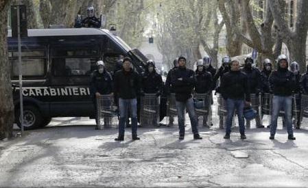 Explozie la Roma: A fost o bombă artizanală, anunță poliția