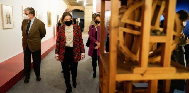 Exposición Madrid: El ingenio al servicio del poder. Los códices de Leonardo da Vinci en la corte de los Austrias