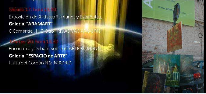 Expoziții de artă românească în Comunitatea Madrid
