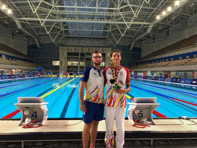 FOTE 2019: Înotătorul David Popovici şi judoka Alexandra Paşca au cucerit noi medalii pentru România