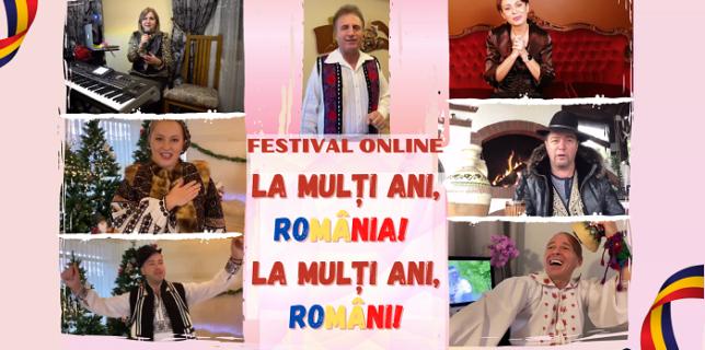 Festival Online în Premieră de Ziua Națională a României difuzat de Radio Românul din Spania