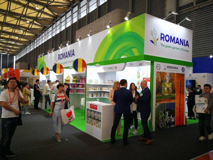 Firme din România şi-au prezentat produsele agrolimentare la SIAL China, desfăşurat la Shanghai