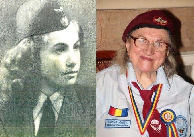 Florica Ioniţă, prima femeie paraşutist de după cel de-al Doilea Război Mondial