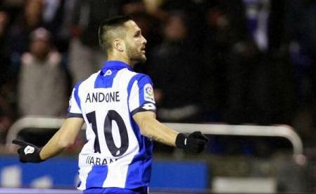 Fotbal: Florin Andone aduce un punct echipei Deportivo La Coruna în meciul cu Atletico Madrid