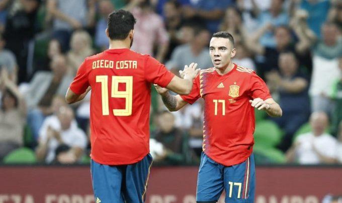 Fotbal: Iago Aspas, convocat în lotul Spaniei în locul lui Diego Costa