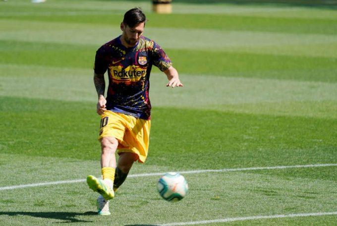Fotbal: Messi l-a depăşit pe emblematicul Telmo Zarra, cucerind al şaptelea titlu de golgheter în Spania