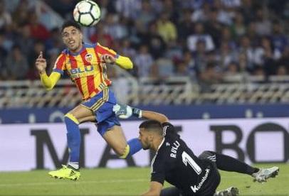 Fotbal: Valencia a urcat pe locul 4 în campionatul Spaniei
