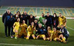 Fotbal feminin: România a încheiat cu o victorie preliminariile EURO 2022