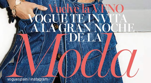 Fotomodele române apreciate în lume. Cine a apărut pe coperta Vogue Spania de septembrie?