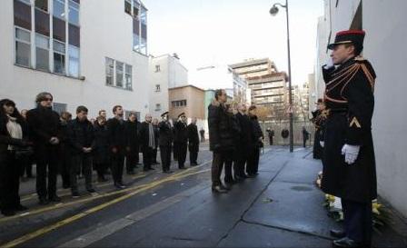 Franța comemorează atentatele din ianuarie 2015