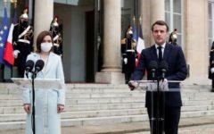 France Presse: Macron şi-a exprimat sprijinul pentru Maia Sandu, preşedinta pro-europeană a Republicii Moldova