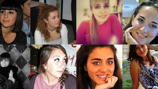 Francesca, Valentina, Serena... las vidas truncadas que deja la tragedia