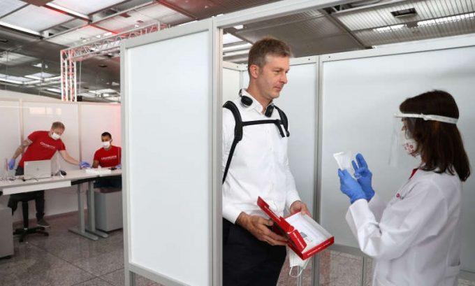 Germania: Aeroportul din Frankfurt a fost dotat cu un centru de testare pentru coronavirus