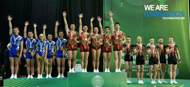 Gimnastică aerobică: România a cucerit două medalii de argint şi două de bronz, la Mondialele din Portugalia