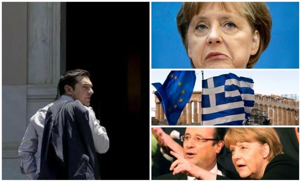 Grecia: Tsipras, Merkel, Hollande și Tusk propun un proiect de compromis