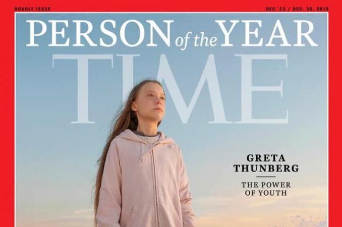 Greta Thunberg, desemnată Persoana Anului 2019 de revista Time