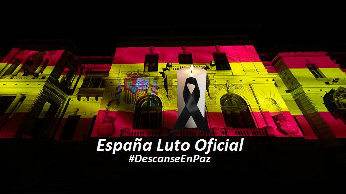 Guvenul spaniol decretează 10 zile de doliu naţional în memoria victimelor pandemiei