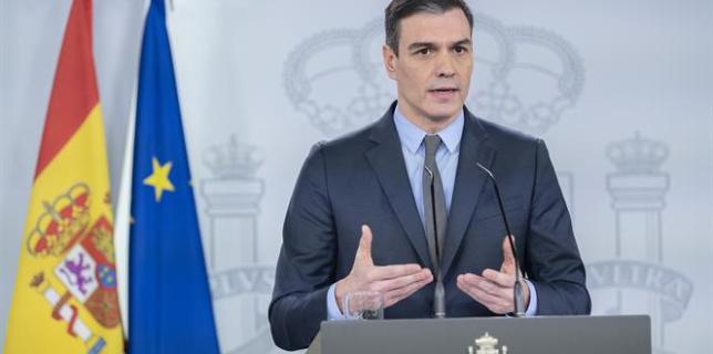 Guvernul spaniol a instituit pe întreg teritoriul starea de urgenţă sanitară şi interzice circulaţia pe timpul nopţii
