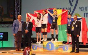 Haltere: Încă cinci medalii de aur şi una de bronz pentru România, la Europenele Under-15 şi Under-17