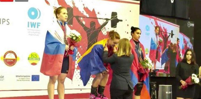 Haltere: Şapte noi medalii pentru România, la Europenele de juniori şi tineret