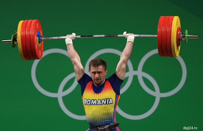 Haltere: Gabriel Sîncrăian, medaliat cu bronz la Jocurile Olimpice de la Rio, a fost depistat pozitiv la un test antidoping