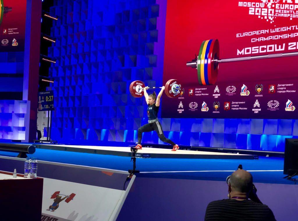 Haltere: Loredana Toma a cucerit trei medalii de aur la Europenele de la Moscova