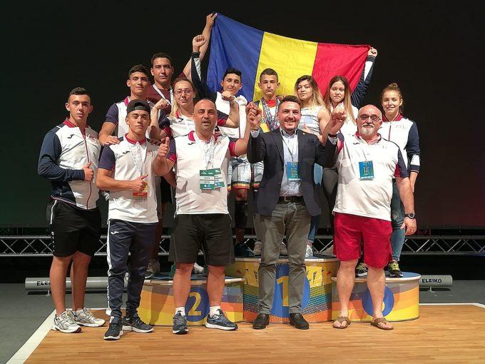 Haltere: Nouă medalii pentru România, în prima zi a Europenelor Under-15 şi Under-17