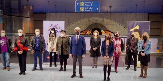 Homenajeamos en Metro a mujeres relevantes de la Historia en el Día Internacional de la Mujer