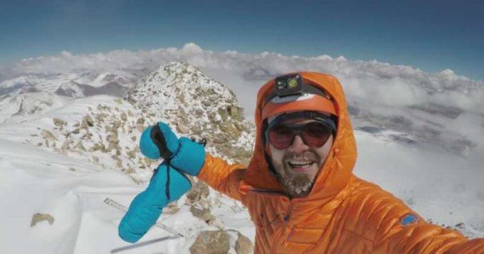 Hunedoara: Un tânăr din Petroşani a reuşit să cucerească vulcanul Ojos del Salado (6.893 m)