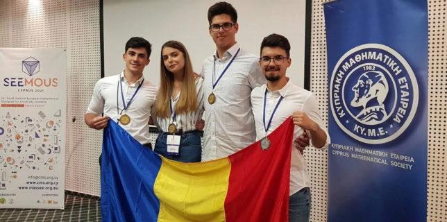 """Iaşi: Patru medalii de argint şi bronz obţinute de studenţi de la Universitatea Tehnică """"Gheorghe Asachi"""" la SEEMOUS 2021"""