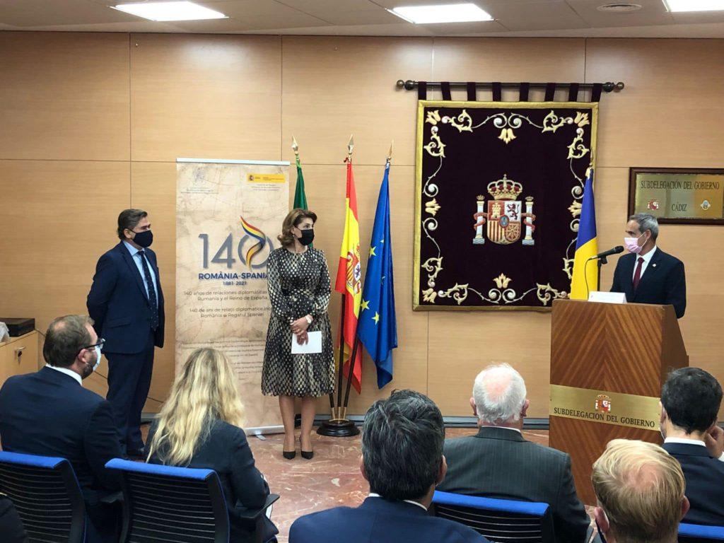 Inaugurarea oficială a Consulatului onorific al României în Cádiz