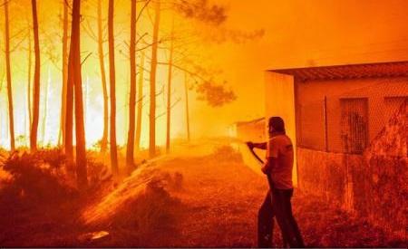 Incendii în Portugalia și Spania: Bilanțul a crescut la 39 de morți