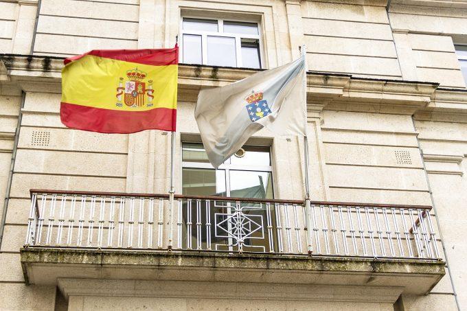 Incendiu de pădure în Spania: Pompierii luptă cu flăcările în Galicia