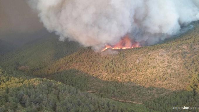 VIDEO Incendiu devastator în Spania. Un parc natural este în pericol