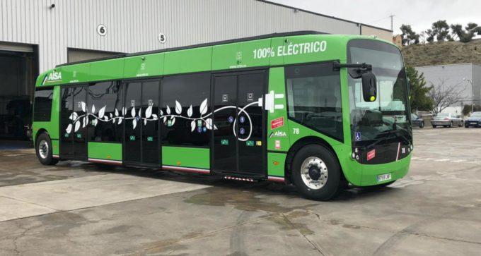 Incorporamos a la flota de autobuses del Consorcio el primer autobús 100% eléctrico