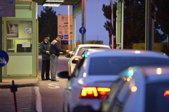 Intrările în România pe la punctele de trecere vamală dinspre Est vor fi dotate cu scanere