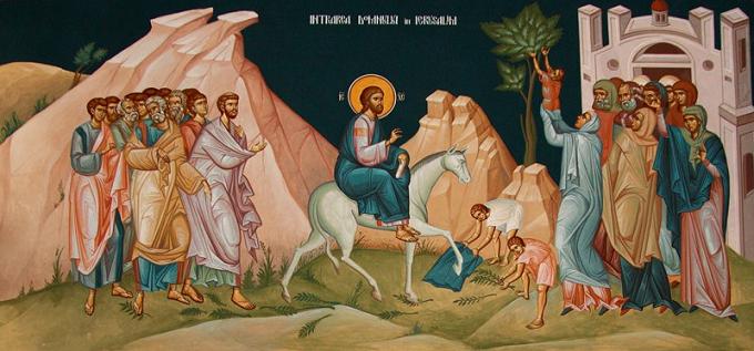 Intrarea Domnului în Ierusalim - Duminica Floriilor