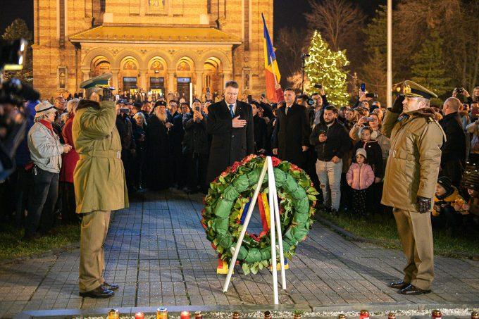 Iohannis: A spune azi că în 1989 nu a existat o revoluţie anticomunistă e un act ruşinos de negare a sacrificiului uman incomensurabil
