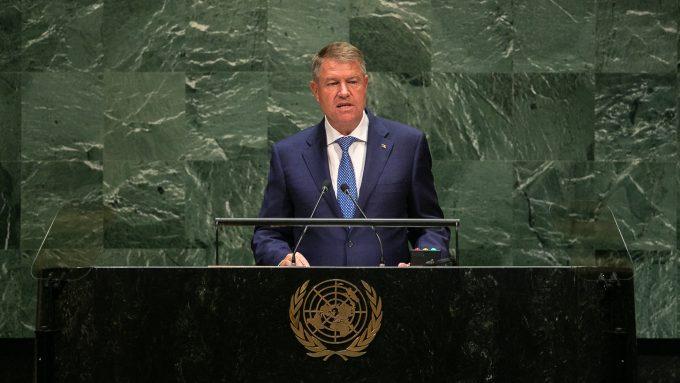 Iohannis: România îşi va amplifica eforturile pentru realizarea Obiectivelor de Dezvoltare Durabilă până în anul 2030