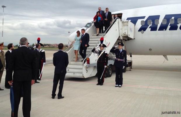 Iohannis a ajuns în SUA; joi vizitează Memorialul Holocaustului și participă la cina oferită de Obama cu prilejul NSS