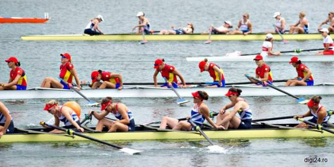 JO 2016 - Canotaj: Medalie de bronz pentru echipajul feminin de 8+1 al României