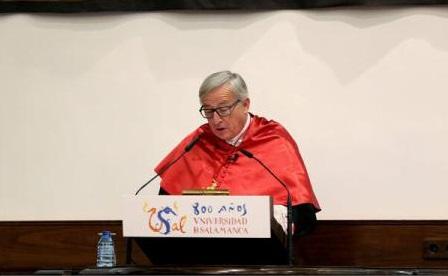 """Jean-Claude Juncker face apel la Europa să respingă """"otrava"""" naționalismului și separatismului, în contextul crizei catalane"""