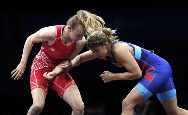 Jocurile Europene 2019: Luptătoarea română Kriszta Incze, medaliată cu bronz