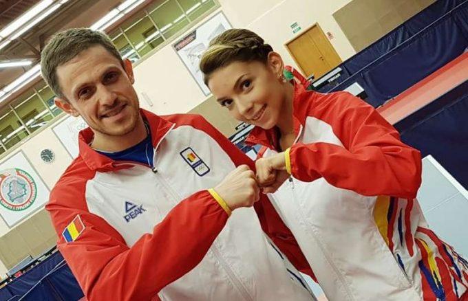 Jocurile Europene 2019: Ovidiu Ionescu şi Bernadette Szocs, medaliaţi cu argint la tenis de masă - dublu mixt