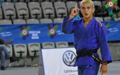 Judo: Lucian Borş Dumitrescu, medaliat cu aur la Cupa Europei de juniori de la Praga