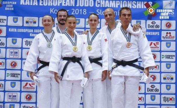 Judo: România a cucerit patru medalii la Europenele de kata