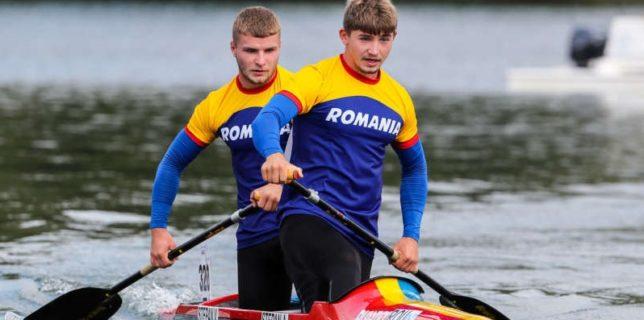 Kaiac-canoe: România, medaliată cu aur la canoe-2 juniori la Mondialele de maraton