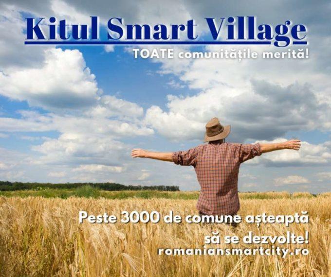 Kit Smart Village - un nou instrument de dezvoltare inteligentă a comunităţilor rurale din România